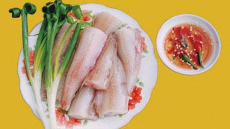 Cá Khoai nấu ngót